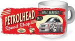 Koolart PERTOLHEAD SPEED SHOP Design For Retro Vauxhall Nova GTE Ceramic Tea Or Coffee Mug